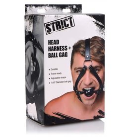 STRICT STRICT HEAD HARNESS W/ BALL GAG