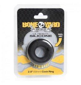 """Boneyard BONEYARD SILICONE 2"""" BLACK"""