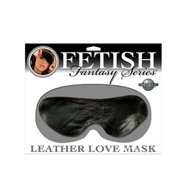 PIPEDREAM BLINDFOLD, FF, LEATHER LOVE MASK