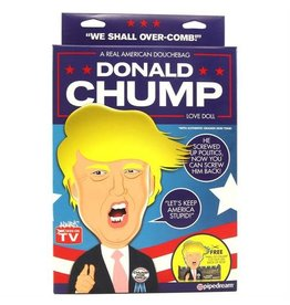 PIPEDREAM BLOW UP DOLL, DONALD CHUMP