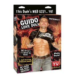 PIPEDREAM N-BLOW UP DOLL, GUIDO LOVE DOLL
