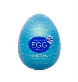 Tenga TENGA,EGG SLEEVE,COOL EDITION,WAVY