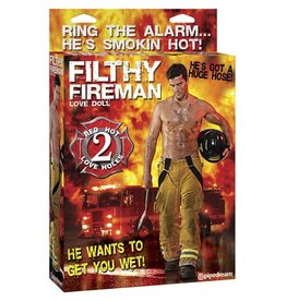 PIPEDREAM DOLL, FILTHY FIREMAN DOLL