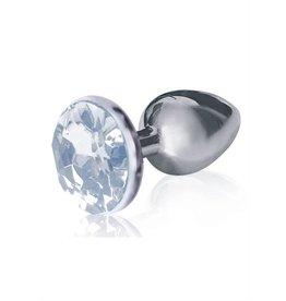SILVER STARTER ROUND PLUG DIAMOND