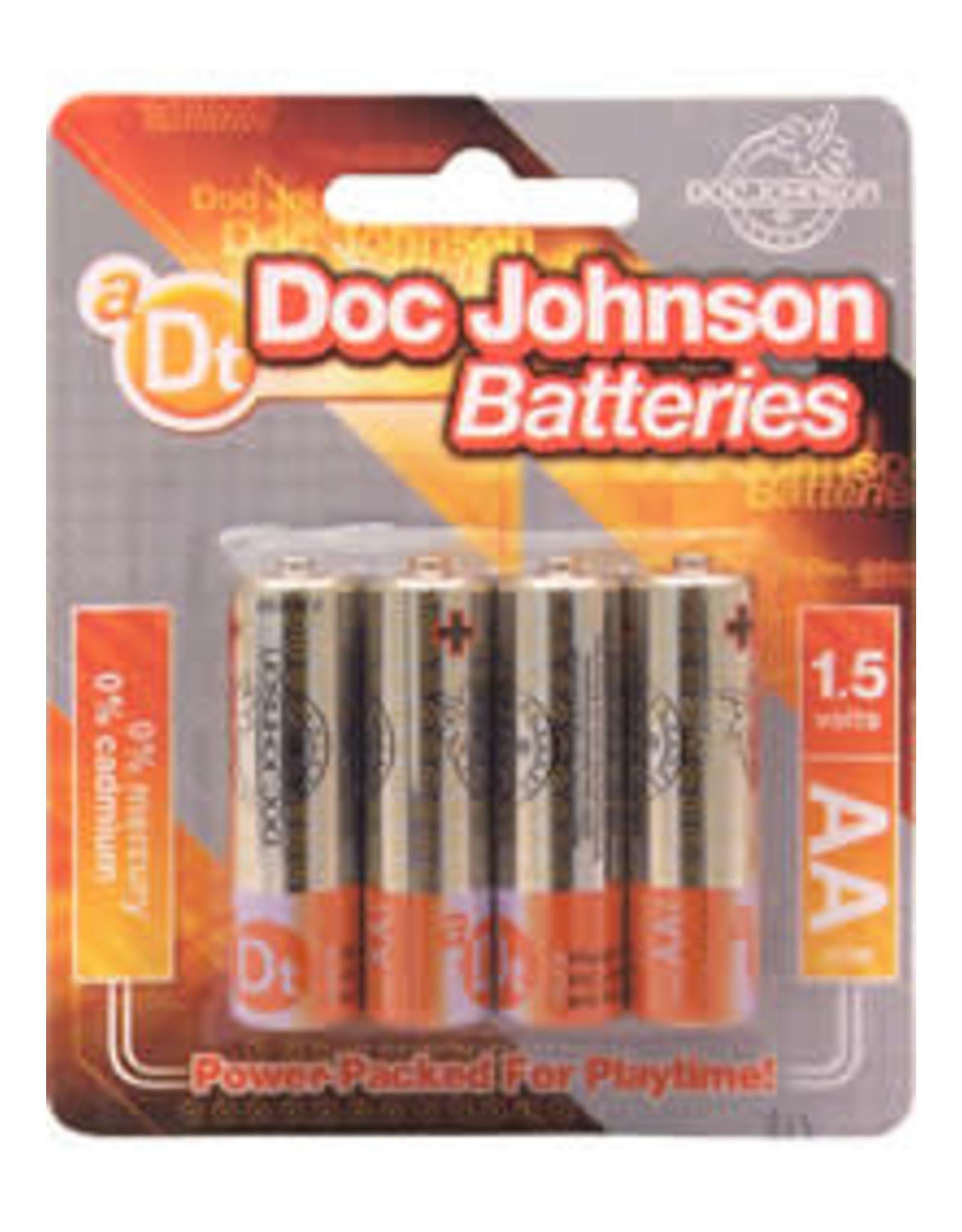 Doc Johnson AA 4 PK BATTERIES