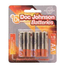 Doc Johnson AA 4 PK BATTERIES