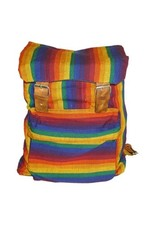BACKPACK- RAINBOW DELUXE CANVAS