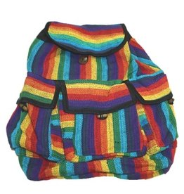 BACKPACK- RAINBOW WOVEN