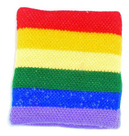 RAINBOW WRISTBAND-TERRY CLOTH,RAINBOW(LIGHT)
