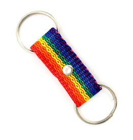 KEYCHAIN-NYLON DBL ENDED RING