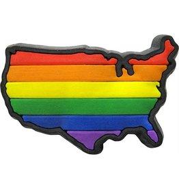 RAINBOW USA RAINBOW LAPEL PIN
