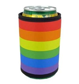 RAINBOW COOZIE/COOZY-RAIN PRIDE CAN WRAP