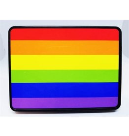 RAINBOW HITCH COVER- RAINBOW FLAG
