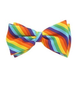 RAINBOW BOWTIE-RAINBOW DIAGONAL