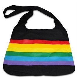 RAINBOW BAG-RAIN.CANVAS MESSENGER
