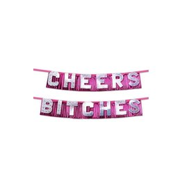 PIPEDREAM PRODUCTS BACHELORETTE, CHEERS BITCHE BANNER