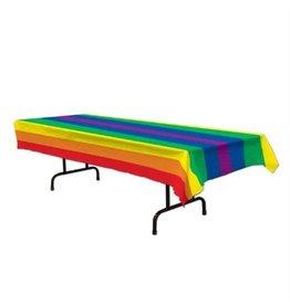 """TABLE CLOTH- RAINBOW 54""""x108"""""""