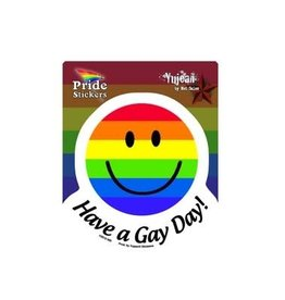 STICKER- GAY DAY, HAVE A
