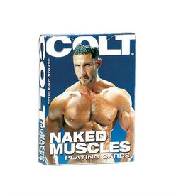 CalExotics PLAYING CARDS, COLT, NAKED MUSCLES