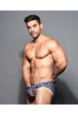 ANDREW CHRISTIAN AC SHEER STAR SPARKLE BRIEF W/ ALMOST NAKED