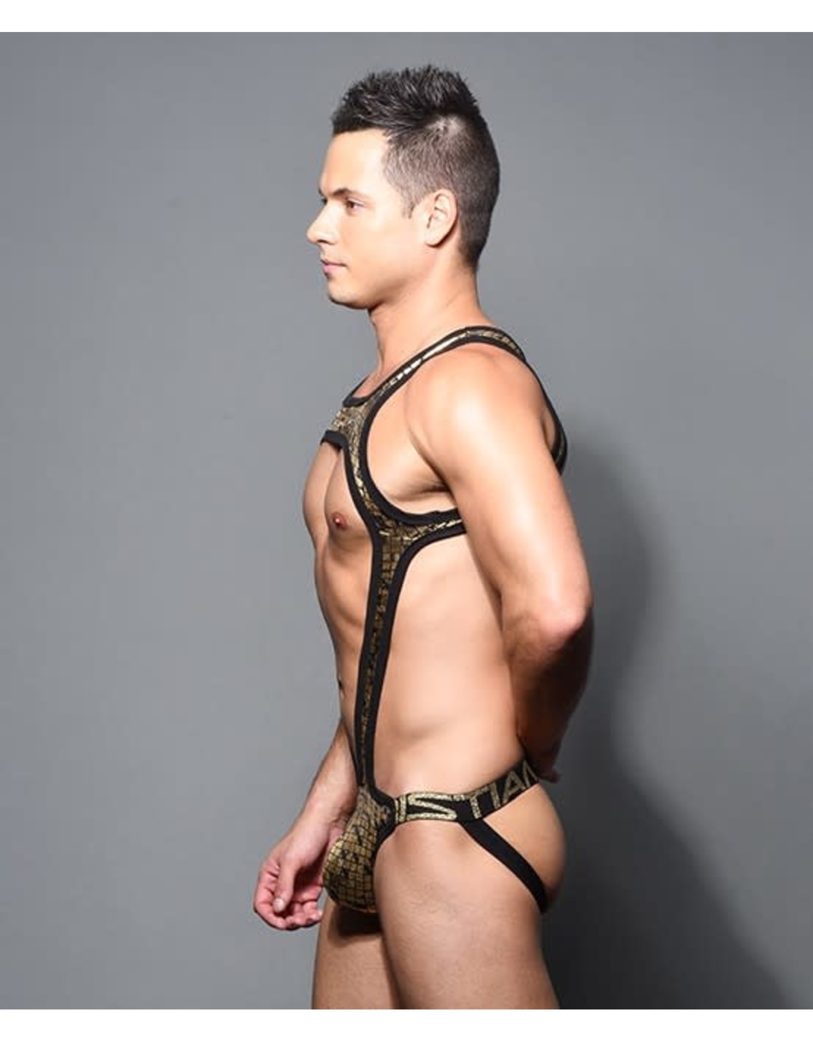 ANDREW CHRISTIAN AC CUBIST SINGLET W/ ALMOST NAKED