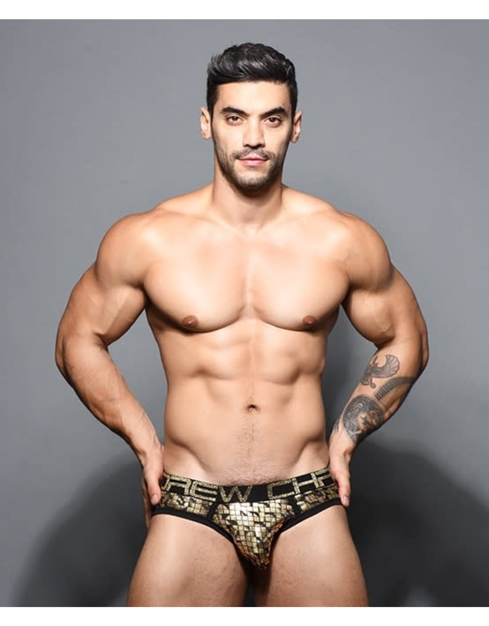 ANDREW CHRISTIAN ANDREW CHRISTIAN CUBIST BRIEF W/ ALMOST NAKED