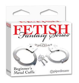 FETISH FANTASY FETISH FANTASY BEGINNERS METAL CUFFS