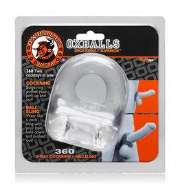 OX BALLS OXBALLS, 360 CR & BALLSLING,CLEAR