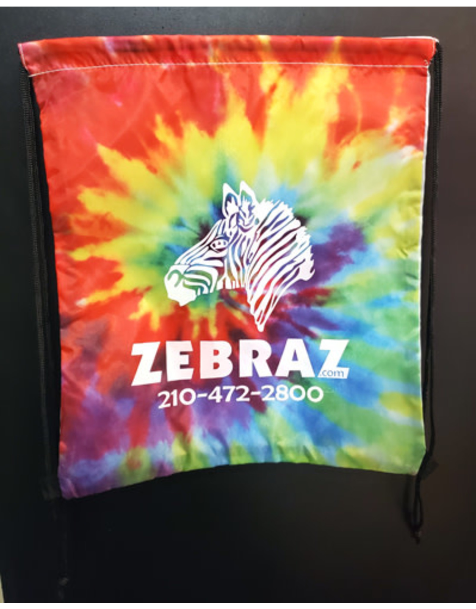 ZEBRAZ ZEBRAZ DRAWSTRING BACKPACK