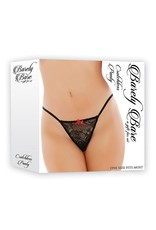 Barely Bare BARELY BARE CROTCHLESS PANTY ONE SIZE
