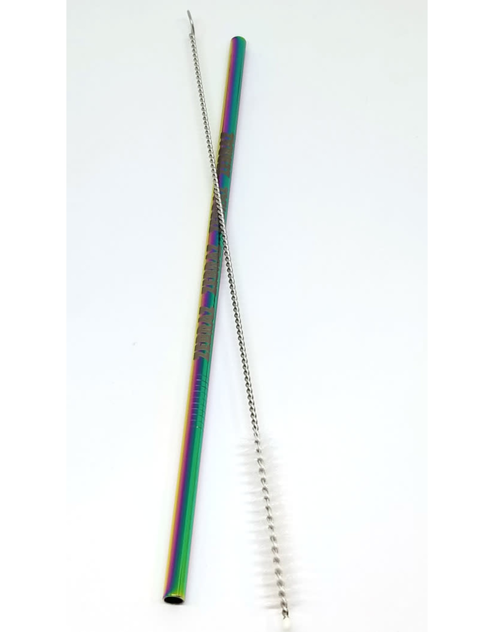 ZEBRAZ RAINBOW STAINLESS STEEL STRAW