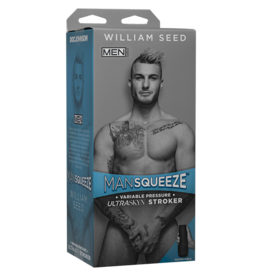 Doc Johnson MAN SQUEEZE WILLIAM SEED