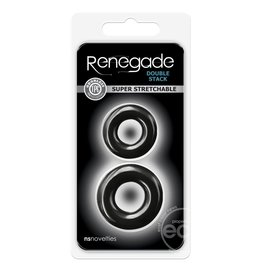 NS Novelties RENEGADE DOUBLE STACK BLACK