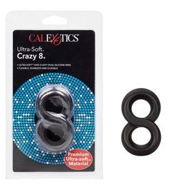 CalExotics ULTRA SOFT CRAZY 8 SILICONE COCK RING