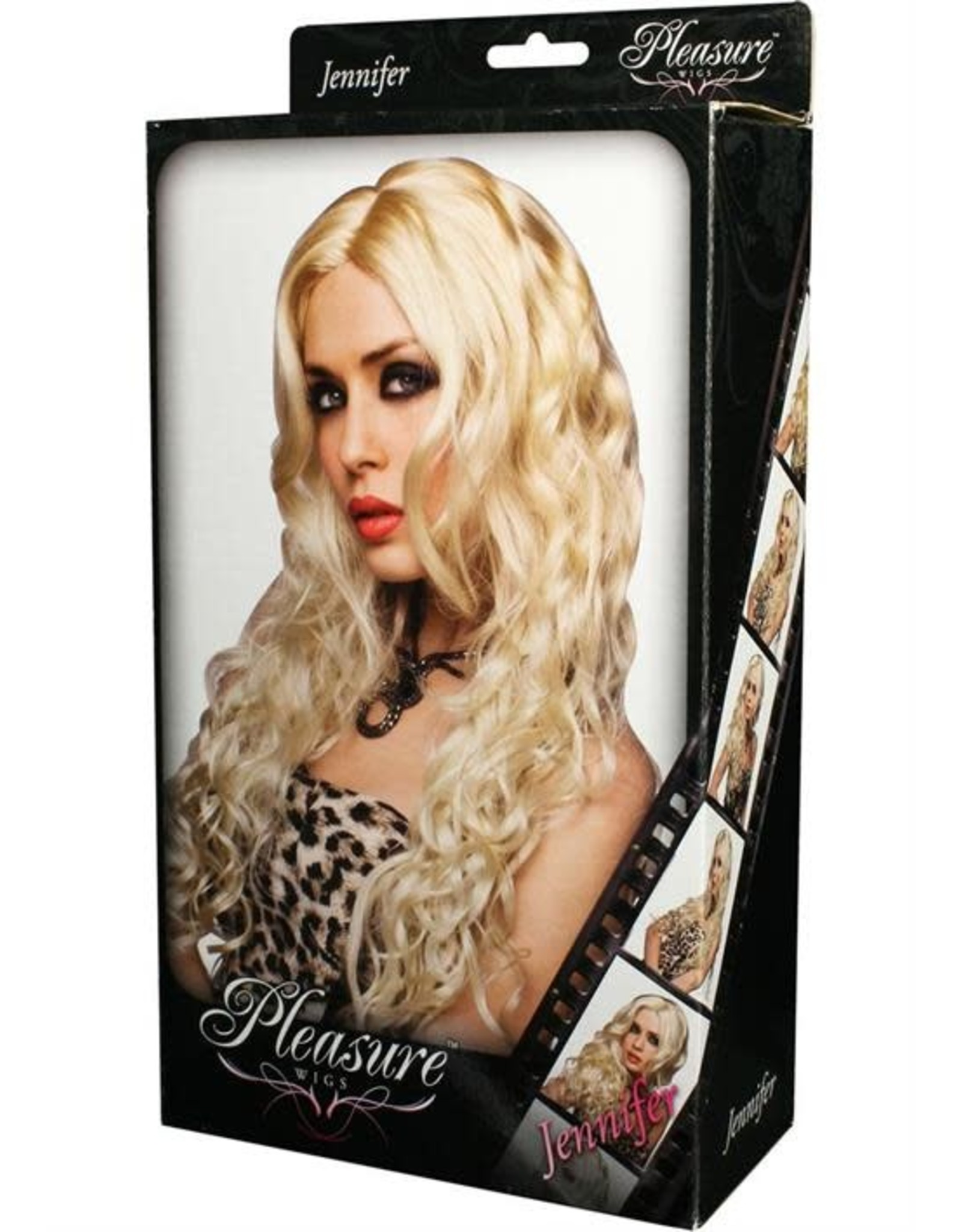 WIG-JENNIFER,PLATINUM BLONDE