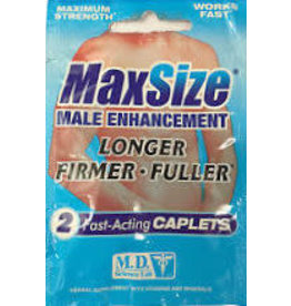 MD SCIENCE LABS MAX SIZE 2 PILL PK