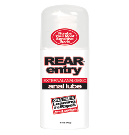 Doc Johnson REAR ENTRY ANAL LUBE 3.4oz