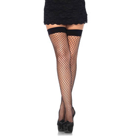 LEG AVENUE FISHNET THIGH HIGHS