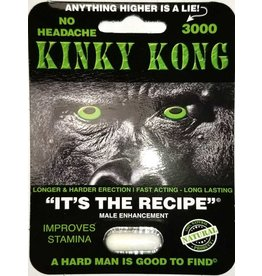 KINKY KONG KINKY KONG  3000MG SINGLE