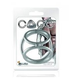 """JIM DIAMOND 3-RING COCK CAGE, Size A- 1.25"""", 1.5"""", 1.75"""""""