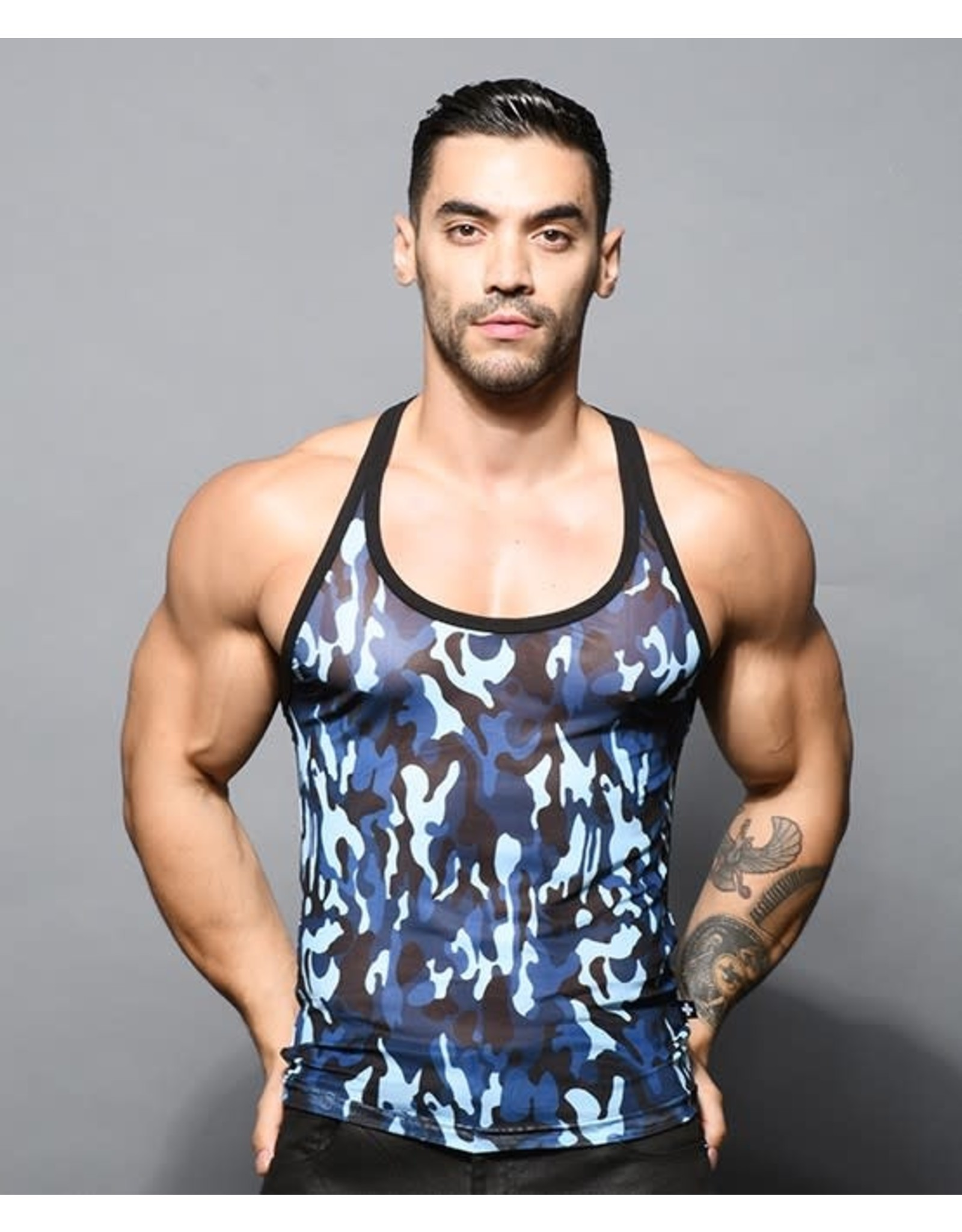 ANDREW CHRISTIAN ANDREW CHRISTIAN TROOP SHEER TANK