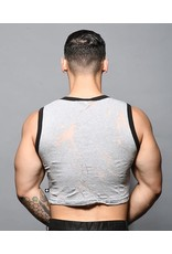 ANDREW CHRISTIAN ANDREW CHRISTIAN BLAST BURNOUT CROP GYM TANK