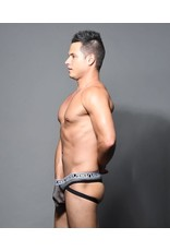 ANDREW CHRISTIAN ANDREW CHRISTIAN SUB DOUBLE-MESH JOCK THONG W/ ALMOST NAKED