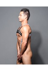 ANDREW CHRISTIAN ANDREW CHRISTIAN SUB DOUBLE-MESH C-RING HARNESS ONE SIZE