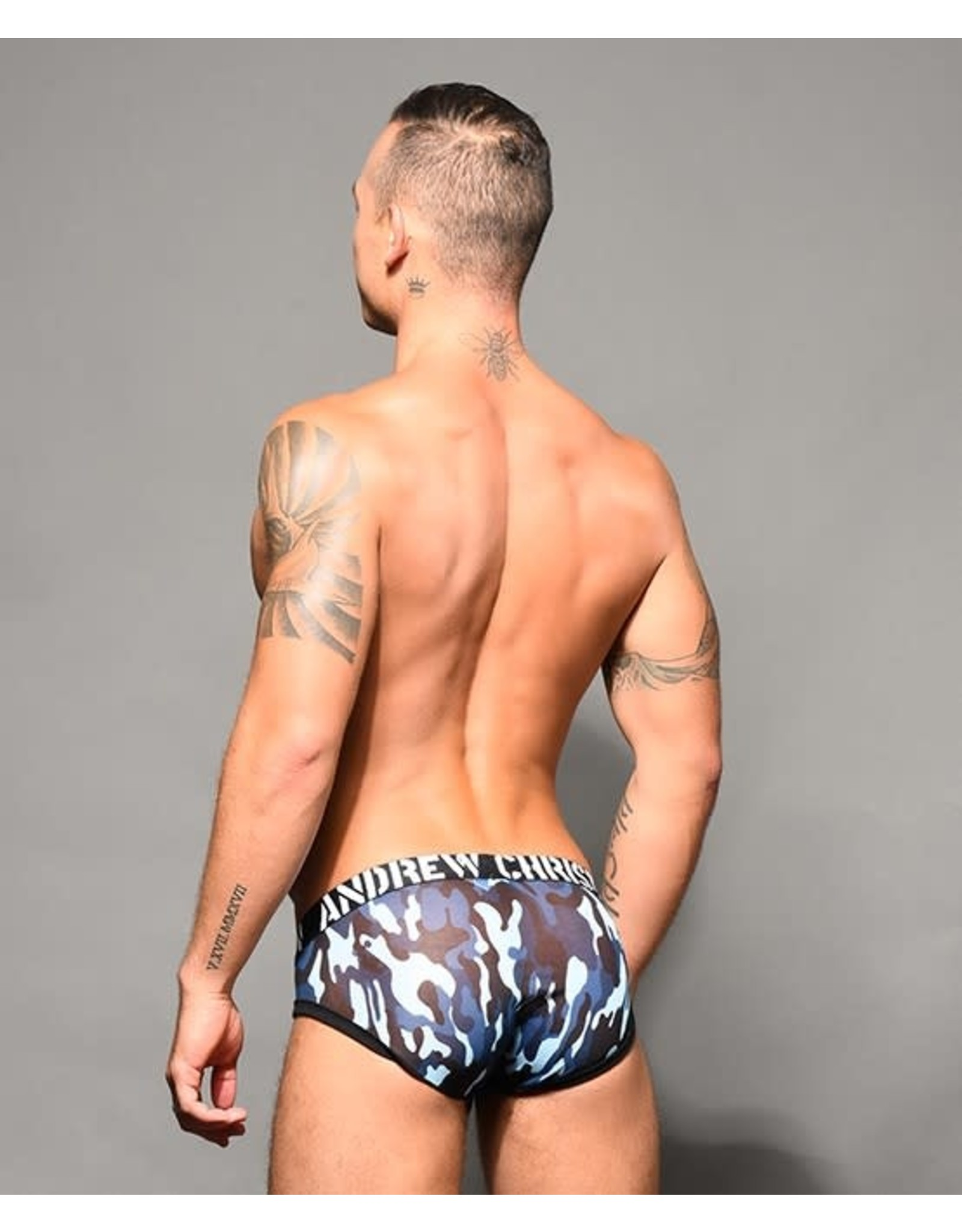 ANDREW CHRISTIAN ANDREW CHRISTIAN TROOP SHEER BRIEF W/ ALMOST NAKED