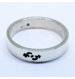 DOUBLE MALE INTERLOCKING SIGNS RING