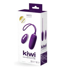 VEDO TOYS VEDO KIWI RECHARGEABLE SILICONE BULLET