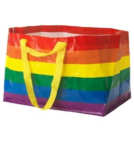 IKEA REUSABLE RAINBOW SHOPPING BAG LARGE