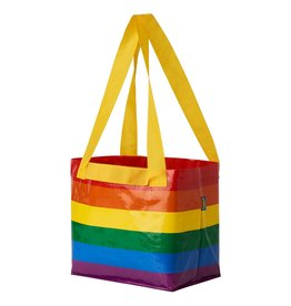 IKEA REUSABLE RAINBOW SHOPPING BAG SMALL