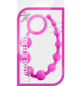 BLUSH NOVELTIES LUXE SILICONE 10 BEADS